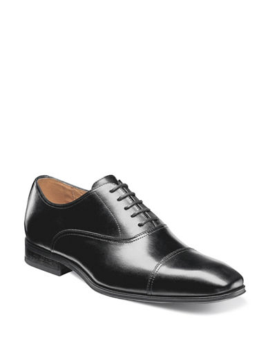 Florsheim Corbetta Cap Toe Oxford Shoes-BLACK-10