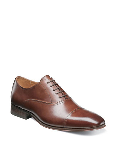 Florsheim Corbetta Cap Toe Oxford Shoes-COGNAC-10.5