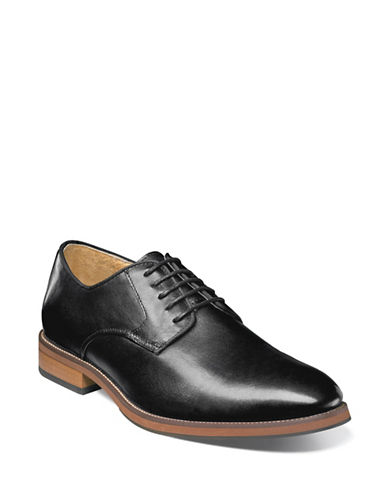 Florsheim Blaze Plain Toe Oxford Shoes-BLACK-8