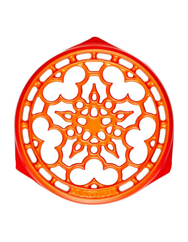 Le Creuset Deluxe Round Cast Iron Trivet-FLAME-One Size