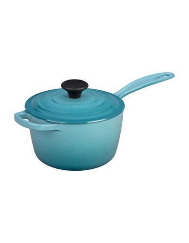 Le Creuset Iron Handle Saucepan-CARIBBEAN-3 L