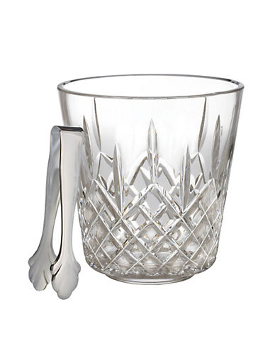 Waterford Wedgwood Waterford Lismore Ice Bucket With Tongs-CLEAR-One Size