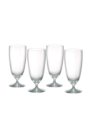 Waterford Wedgwood Vintage Iced Beverage  Set of 4-CLEAR-17 Ounces
