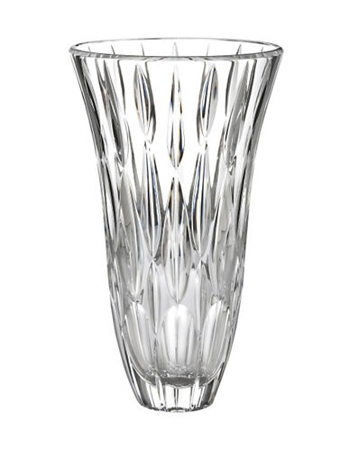 Waterford Wedgwood Marquis Rainfall 11In Vase-CLEAR-Large