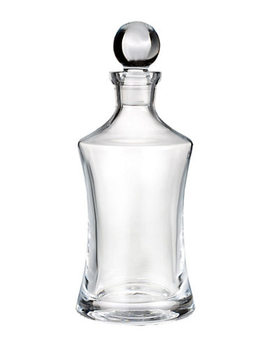 Waterford Wedgwood Marquis By Waterford Vintage Hour Glass Decanter-CLEAR-One Size