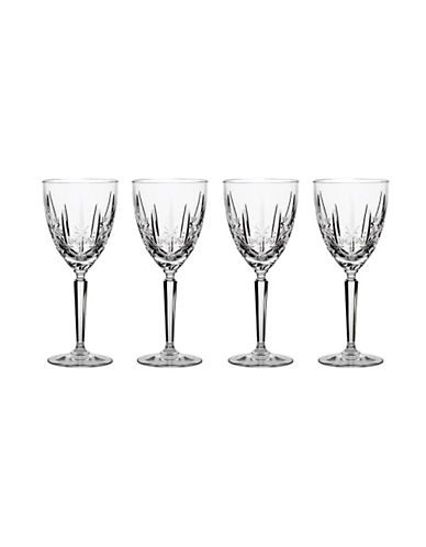 Waterford Wedgwood Marquis By Waterford Sparkle Oversized Goblet Set Of 4-NO COLOUR-One Size