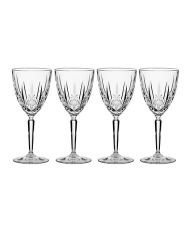 Waterford Wedgwood Marquis By Waterford Sparkle Wine Set Of 4-NO COLOUR-One Size