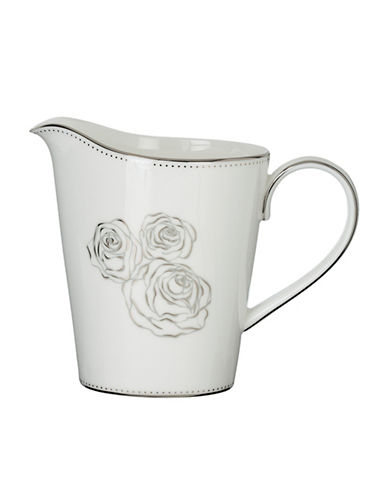 Monique Lhuillier Waterford Sunday Rose Creamer Jug-WHITE-One Size