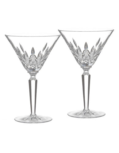 Waterford Wedgwood Waterford Classic Lismore Cocktail Glass  Set Of 2-CLEAR-One Size