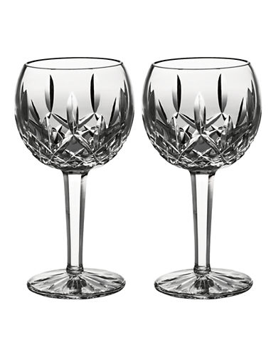 Waterford Wedgwood Classic Lismore Balloon Wine Set of 2-CLEAR-One Size