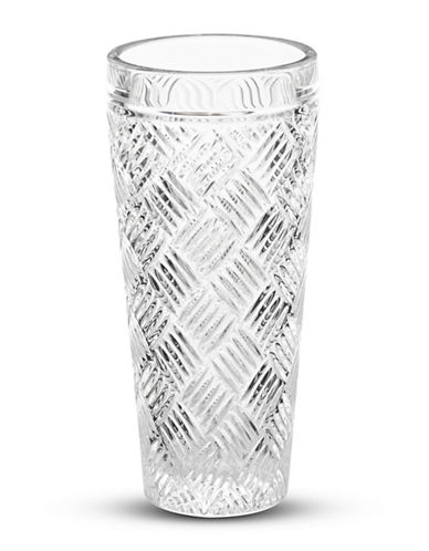 Waterford Wedgwood 8 Inch Versa Vase-CRYSTAL-One Size