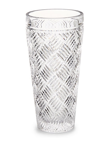 Waterford Wedgwood 11 Inch Versa Vase-CRYSTAL-One Size