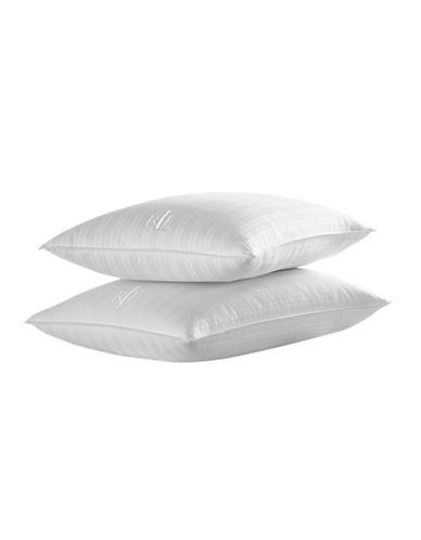 Lauren Ralph Lauren Dobby Two-Pack Standard Queen Pillows-WHITE-Queen