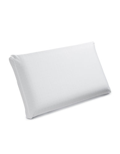 Live Comfortably Contour Memory Foam All Sleep Type Pillow-WHITE-One Size