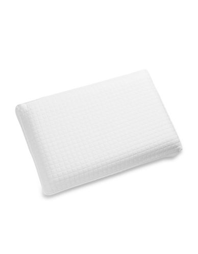 Live Comfortably LumaGel Pillow with Knit Cover All Sleep Type Pillow-WHITE-One Size