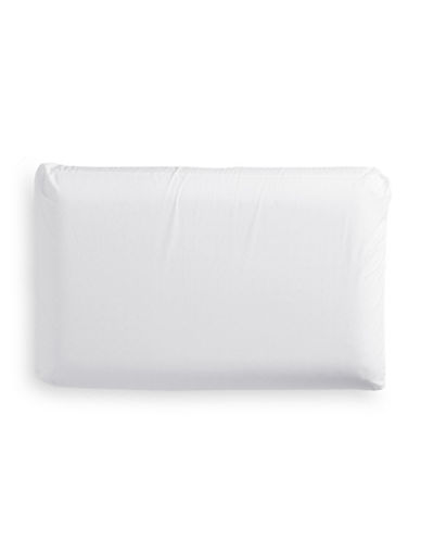 Simmons 233 Thread-Count Memory Foam Hydrogel Pillow-WHITE-Standard