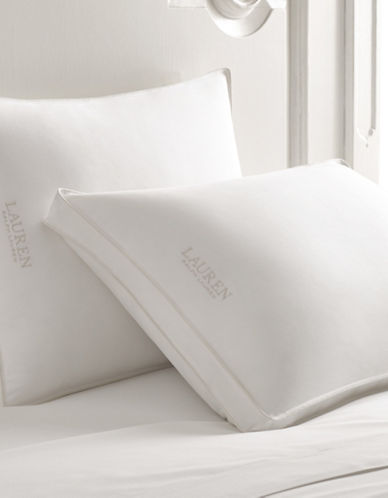 Lauren Ralph Lauren Xfirm Bronze Down Pillow-WHITE-Queen