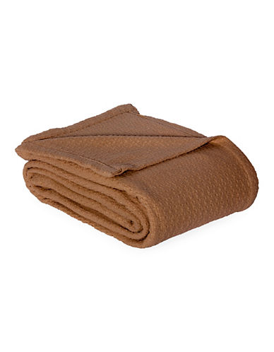 Lauren Ralph Lauren Lauren RL Classic Blanket-BROWN-King