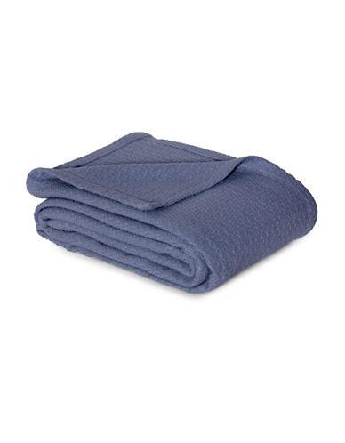 Lauren Ralph Lauren Lauren RL Classic Blanket-BLUE-Queen