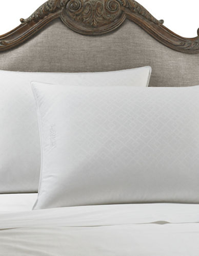Lauren Ralph Lauren Trellis Silver Comfort Trilogy Pillow-WHITE-King