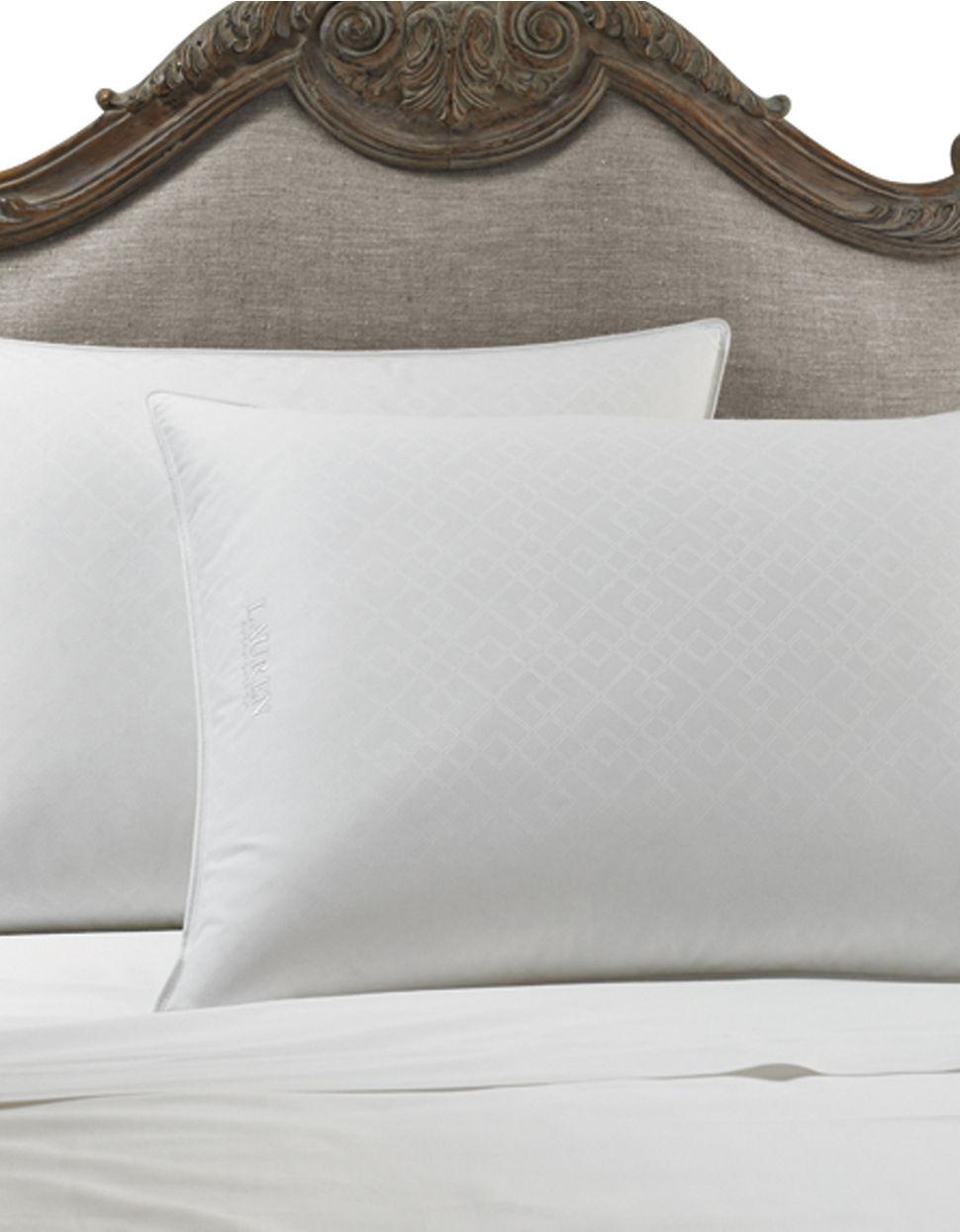 Trellis Silver Comfort Trilogy Pillow