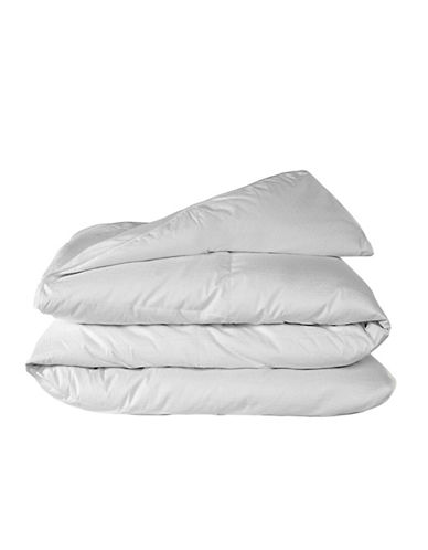 Glucksteinhome 350-Thread Count Hungarian Down Cotton Duvet-WHITE-King