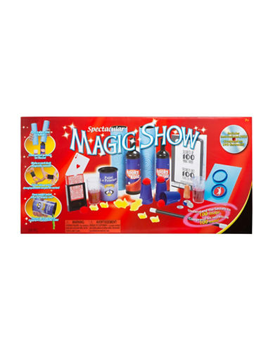 Poof Spectacular 100 Trick Magic Show-MULTI-One Size 88662232_MULTI_One Size