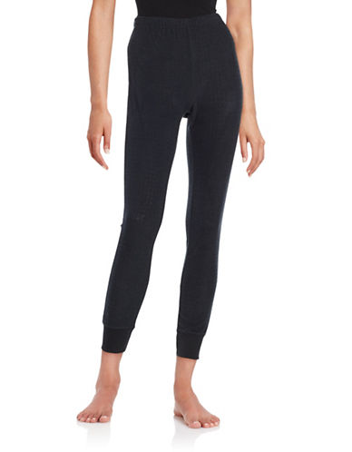 Roudelain Textured Sleep Leggings-BLACK-Small 88712359_BLACK_Small