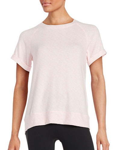 Roudelain Heathered Sleep Tee-PINK-Medium 88553921_PINK_Medium