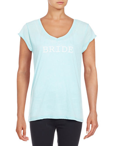 Roudelain The Mrs Sleep T-Shirt-BLUE-Large