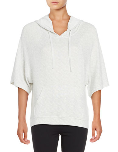 Roudelain Heathered Sleep Hoodie-WHITE-Medium