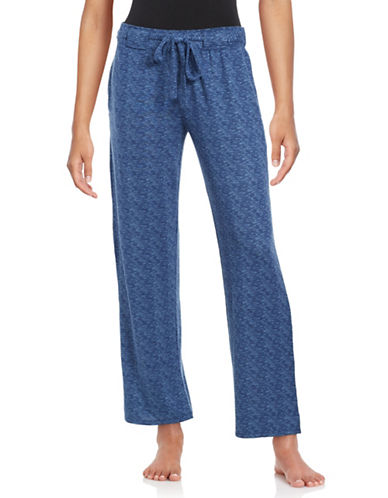 Roudelain Special Touch Spacedye Sleep Pants-BLUE-X-Large 89003228_BLUE_X-Large