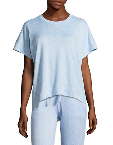 Roudelain Crew Neck Sleep Tee-BLUE-Small