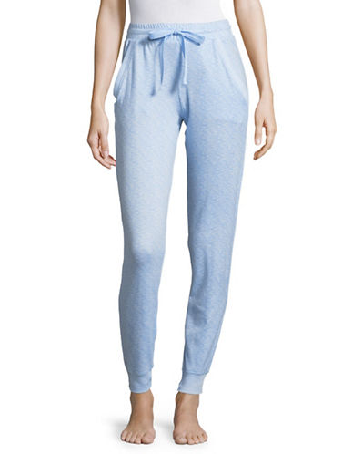 Roudelain Knit Joggers-LIGHT BLUE-Medium