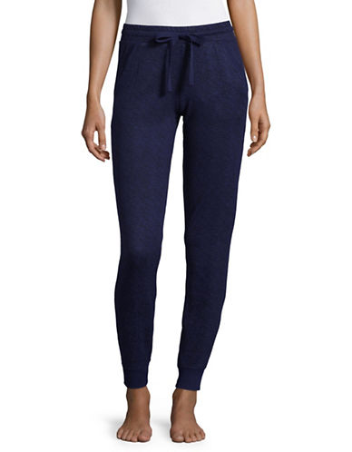 Roudelain Knit Joggers-BLUE-X-Large