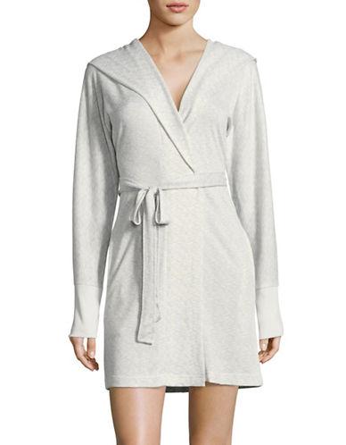 Roudelain Hooded Robe-NATURAL-Medium