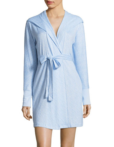 Roudelain Hooded Robe-BLUE-X-Large
