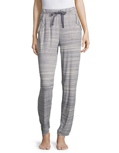 Roudelain Heathered Joggers-GREY-Large