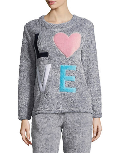 Roudelain Love Long Sleeve Top-FLINTSTONE-Medium