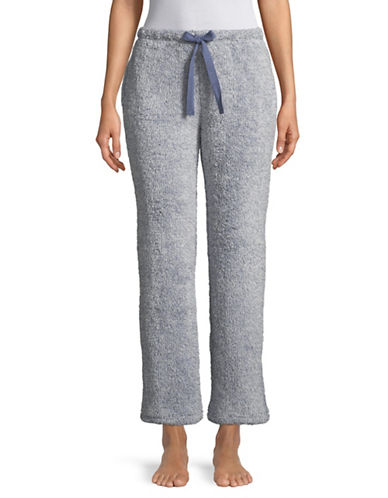 Roudelain Plush Lounge Pants-GREY-Large 89635727_GREY_Large