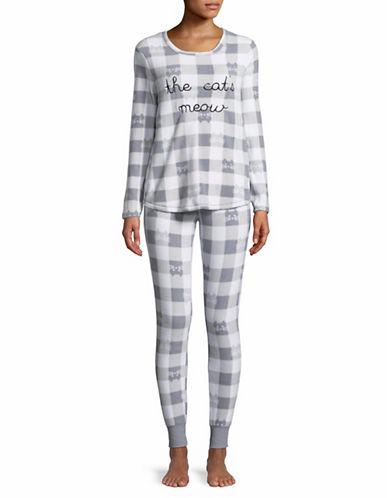 Roudelain Bad Hair Day Pyjama Set-NATURAL-Large