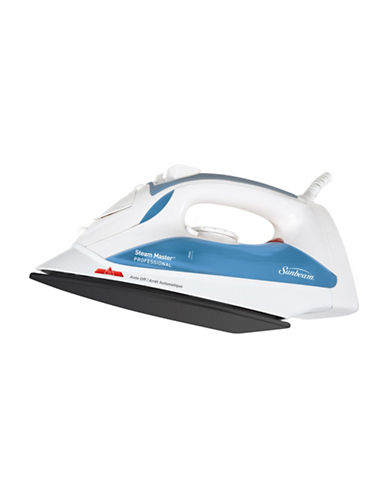Sunbeam Steam Master Non-Stick Iron-WHITE/BLUE-One Size