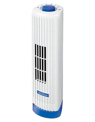 Sunbeam Personal Tower Fan-BLUE-One Size