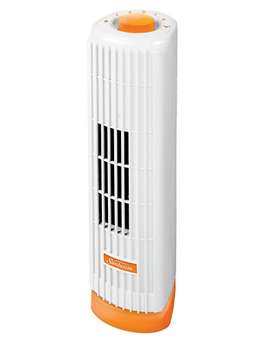 Sunbeam Personal Tower Fan-ORANGE-One Size