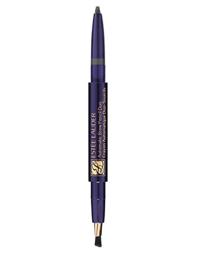 Estee Lauder Automatic Brow Pencil Duo-DARK BROWN-One Size