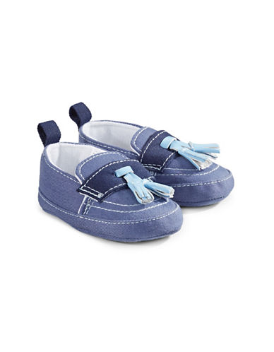Little Me Round Toe Loafers-ASSORTED-0-6 Months