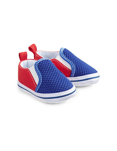 Little Me Round Toe Slip-On Shoes-ASSORTED-6-9 Months