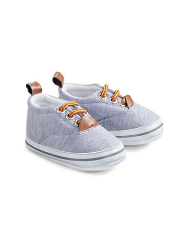 Little Me Casual Lace-Up Sneakers-ASSORTED-6-9 Months