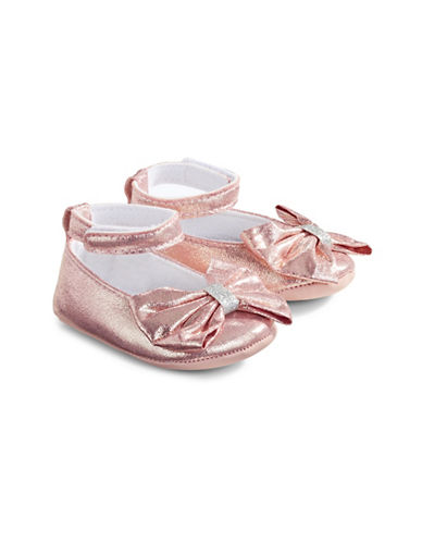 Little Me Mary Jane Bow Flats-ASSORTED-0-6 Months