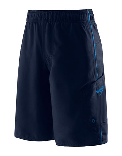 Speedo Marina Volley Board Shorts-BLUE-X-Large